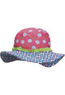 Playshoes - UV Sun Hat Kids- flower - 0