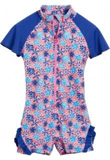 Playshoes - UV swimsuit - Blue flowers - 41