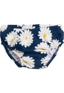 Playshoes - UV swim nappy for girls - Reusable - Oxeye daisy - Blue - Front