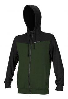 O'Neill---Men's-UV-Hoodie---Longsleeve---Hybrid-Sun---Dark-Olive