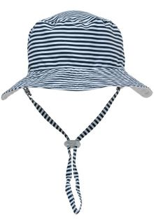 Snapper-Rock---UV-Bucket-Hat-for-kids---Reversible---White/Navy