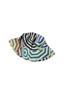 Molo - UV bucket hat for children - Nadia - Parasol print - Front