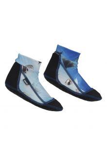 Molo---Neoprene-Beach-Socks-for-children---Zabi---Above-Ocean---Blue