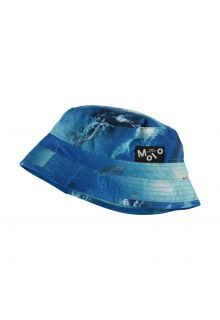 Molo---UV-bucket-hat-for-children---Niks---Above-Ocean---Blue