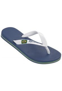 Ipanema - Flip-flops for boys - Classic Brasil - blue / white - Front
