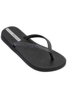 Ipanema - Flip-flops for girls - Lolita - black / glitter - Front