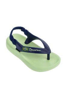 Ipanema - Sandals for babies - Anatomic Soft - green - Front