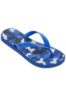Ipanema - Flip-flops for boys - Classic VI Kids - blue-white - Front