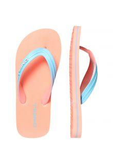 O'Neill - Flip-flops for boys - Sol - Neon tangerine pink - Front