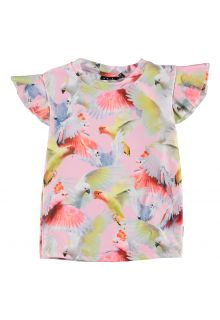 Molo---UV-Swim-shirt-short-sleeves-for-girls---Neona---Cockatoos
