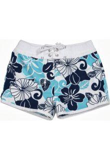 Snapper Rock - UV Board Shorts Kids- Tropical Blues - 0