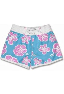Snapper Rock - UV Board Shorts Kids- Hibiscus - 0