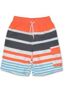 Snapper Rock - Board shorts - Orange Stripe - 0