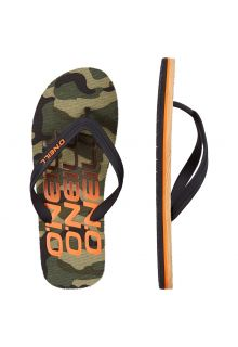 O'Neill - Men's Flip-flops - Camouflage - Green - Front