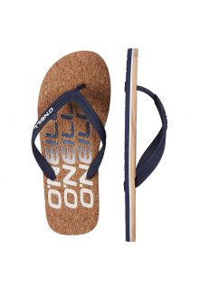 O'Neill - Men's Flip-flops - Brown - Front