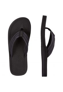 O'Neill - Men's Flip-flops - Black - Front