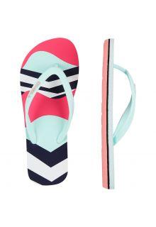 O'Neill - Girls' Flip-flops - Moya - Multicolor - Front