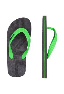 O'Neill - Flip-flops for Boys - Light Green / Grey - Front