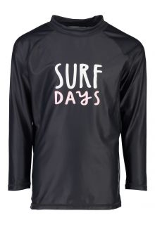 Snapper Rock - UV Swim shirt for kids - Longsleeve - Surf Days - Grey - Front