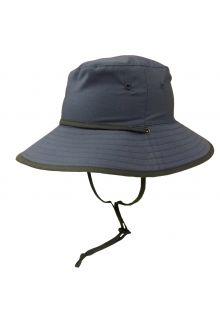 Rigon---UV-sun-hat-for-boys---Petrol-blue-/-grey