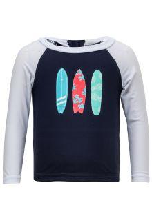 Snapper Rock - UV Swim set - Hibiscus Surfboard - Blue/Red - Front