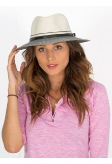Rigon---UV-sun-hat-for-women---Ivory-/-black