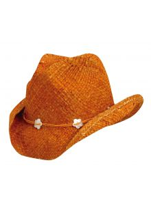 Scala---UV-cowgirl-hat-for-Kids---Orange