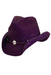 Scala---UV-cowgirl-hat-for-Kids---Purple