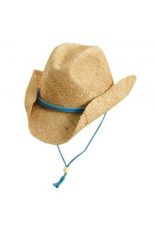 Scala---UV-western-hat-for-Kids---Turquoise