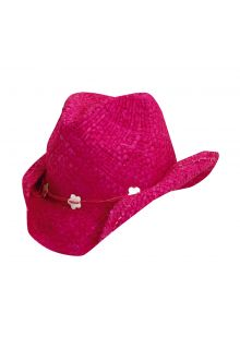 Scala---UV-cowgirl-hat-for-Kids---Fuchsia