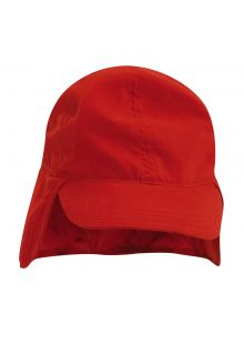 Scala---UV-flap-cap-for-Kids---Red