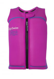 EasySwim---Girls'-UV-float-jacket---Fun---Pink