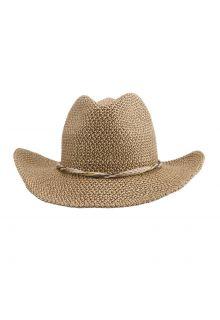 Emthunzini-Hats---UV-Cowboy-sun-hat-for-women---Gillaroo---Brown