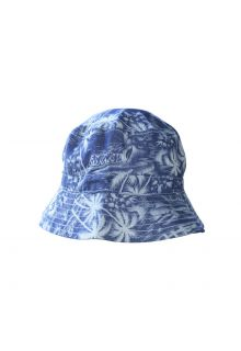 Emthunzini-Hats---UV-Bucket-hat-for-babies---Sandy-Denim---Blue