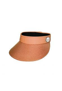 Emthunzini-Hats---Visor-for-women---Evoke-Morgan-Peak---Orange