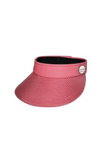 Emthunzini-Hats---Visor-for-women---Evoke-Morgan-Peak---Pink