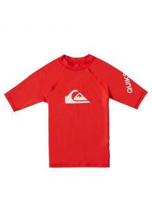 Quicksilver---UV-Swim-shirt-for-boys---All-Time---High-Risk-Red