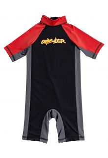 Quicksilver---UV-Swim-suit-for-boys---Spring-Joy---Black/Red