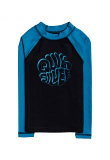 Quicksilver---UV-Swim-shirt-for-boys---Longsleeve---Bubble-Trouble---Black