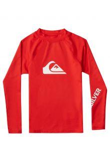 Quicksilver---UV-Swim-shirt-for-boys---Longsleeve---All-Time---High-Risk-Red
