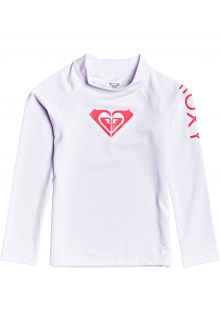 Roxy---UV-Swim-shirt-for-little-girls---Longsleeve---Whole-Hearted---Bright-White
