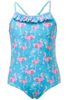 Snapper Rock - UV bathing suit - Blue Flamingo - Blue - Front