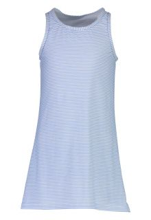 Snapper Rock - UV Swim Dress for girls - Striped - Blue/White - Front