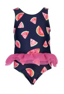 Snapper Rock - Bathingsuit for babies - Slice of Life - Navyblue - Front