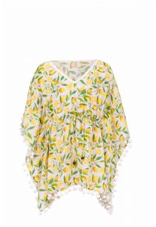 Snapper Rock - Beach tunic Lemon - Yellow - Front