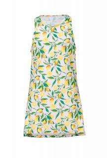 Snapper Rock - Swim dress Lemon - Lemon print - Front