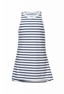 Snapper Rock - Swim dress Strawberry - Navy / wit - Front