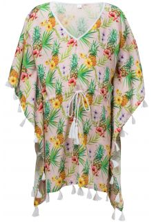 Snapper Rock - Tunic for girls - Tropicana - Pink - Front