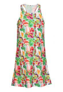Snapper Rock - Swim Dress - Tropical Birds - 0