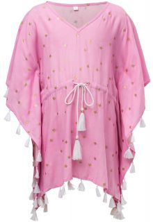Snapper Rock - Tunic for girls - Pink Gold Star - Pink - Front